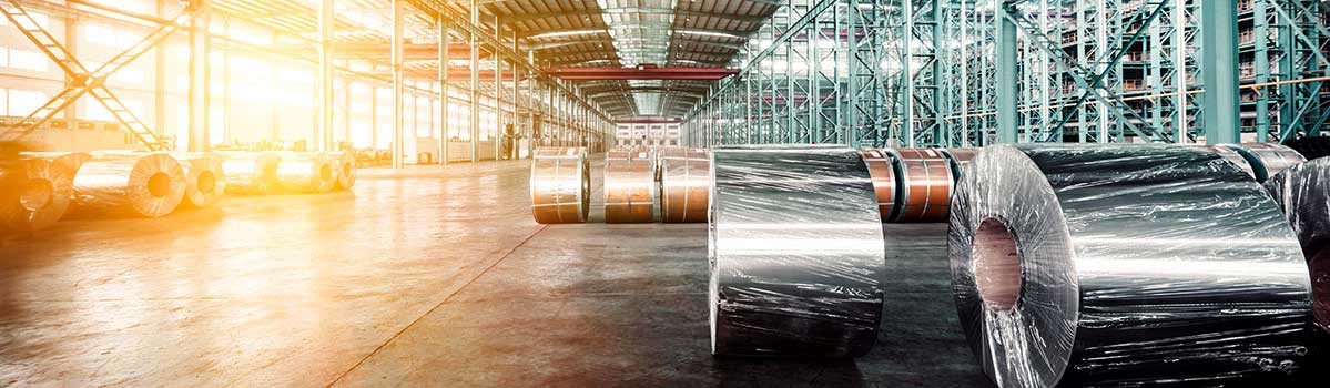 Internationale handel coils international trade warehouse opslag